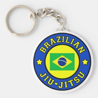 Brasilianer Jiu Jitsu Standard Runder Schlüsselanhänger