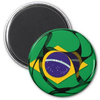 Brasilien 1 runder magnet 5,7 cm