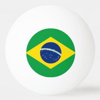 Brasilien-Flagge Tischtennis Ball