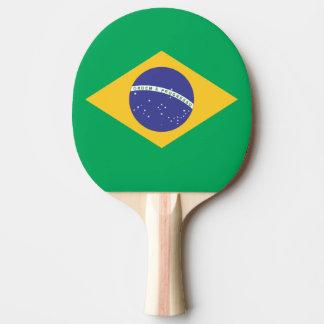 Brasilien-Flaggenqualität Tischtennis Schläger