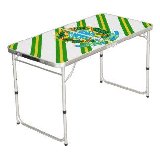 Brasilien-Mantelarme Beer Pong Tisch