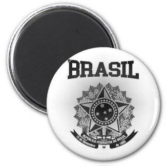 Brasilien-Wappen Runder Magnet 5,7 Cm