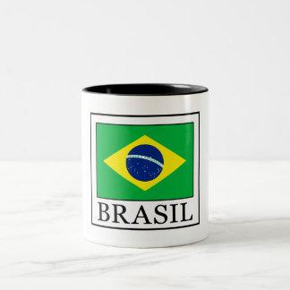 Brasilien Zweifarbige Tasse