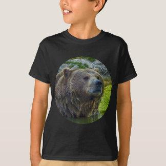 Braunbär in Wasser 002 02.1. T-Shirt