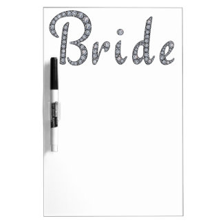 Braut bling whiteboard
