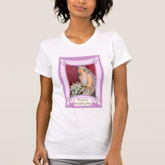 Braut mit Blumen T-Shirt