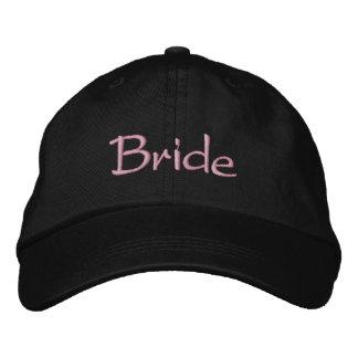 Braut nobel bestickte kappe