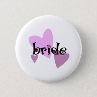 Braut Runder Button 5,1 Cm