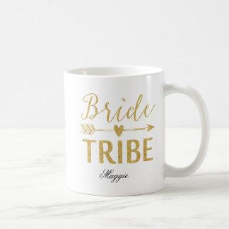 Braut-Stamm personalisiert Kaffeetasse