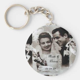 Braut u Bräutigam Keychain Schlüsselband