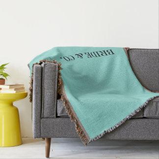 BRAUT u. Co. blaue Tiffany Wurfs-Decke Decke