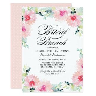 Brautgänseblümchen-Aquarell der 12,7 X 17,8 Cm Einladungskarte
