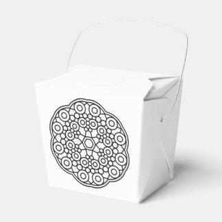 BrautGeschenkboxen mit Mandalakunst Geschenkkartons