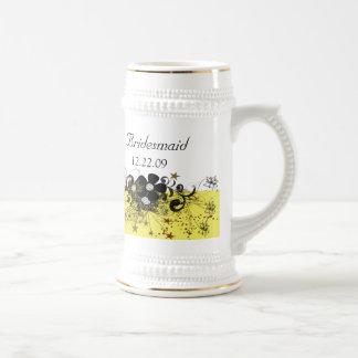 Brautjungfer Stein - Gelb Bierkrug