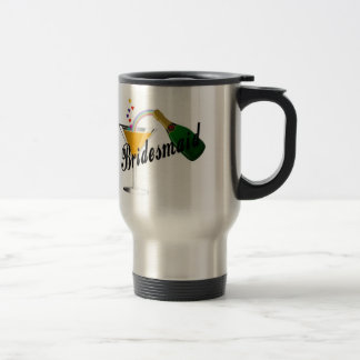 Brautjungfern-Champagne-Toast Reisebecher