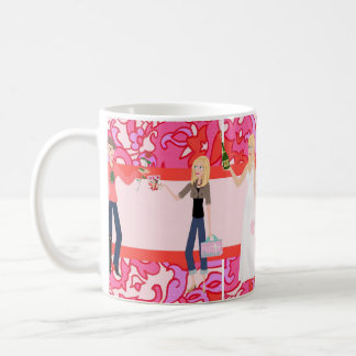 Brautjungfern DesignHerGals Bkgrnd Tasse