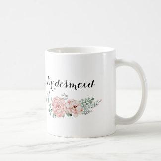 Brautjungfern-Kaffee-Tasse Tasse