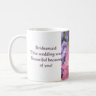 Brautjungfern-Kaffeetasse-schönes Hochzeits-Party Tasse