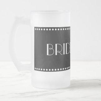 Brautjungfern-mattierte Tasse