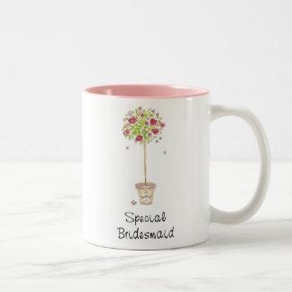 Brautjungfern-Tasse Zweifarbige Tasse