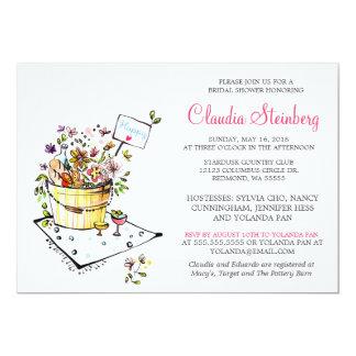 Brautparty-Einladungs-Karten 12,7 X 17,8 Cm Einladungskarte
