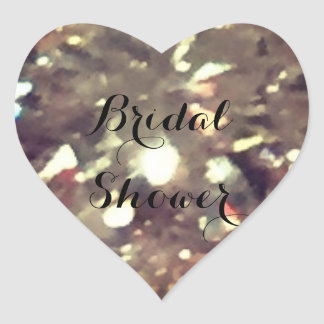 Brautparty Herz-Aufkleber