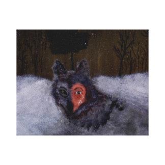 Bravewolf Leinwand-Druck Gespannter Galeriedruck