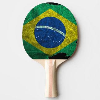 Brazilian flag tischtennis schläger