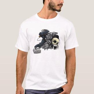 Breakdance-Schädel-T-Stück T-Shirt