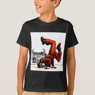 Breakdancer und Kasten-angesagtes Hopfen T-Shirt