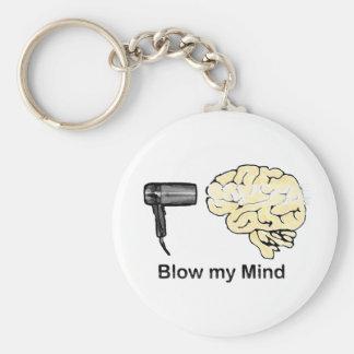 Brennen Sie meinen Verstand durch Standard Runder Schlüsselanhänger