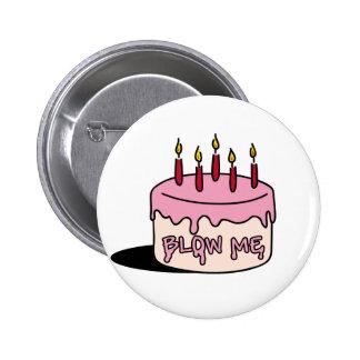 brennen Sie mich durch (Geburtstags-Junge) Runder Button 5,7 Cm
