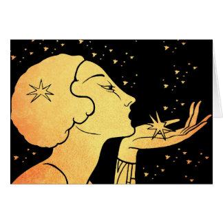 Brennen Sie Sie ein Kuss durch Karte