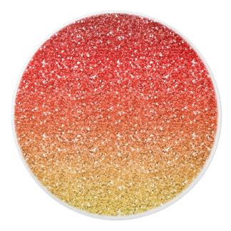 Brennendes Ombre mit Glitter-Effekt Keramikknauf