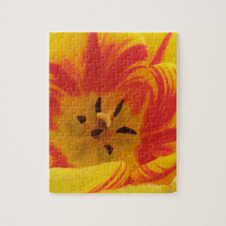 Brennendes Tulpe-Puzzlespiel Puzzle