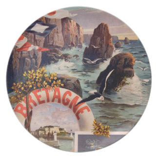 Bretagne - Schönheit Ile en Mer Bretagne Flache Teller