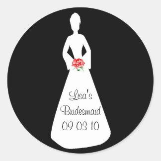 Bride Silhouette I Stickers