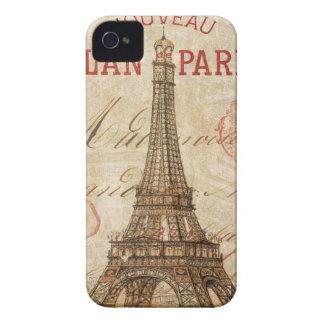 Brief aus Paris iPhone 4 Cover