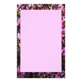 Briefpapier mit Kirschblüten-Foto