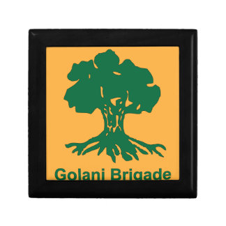 Brigada tun Golan, Golani Brigade, Hativat Galoni Kleine Quadratische Schatulle