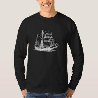Brigantine-Segelschiff T-Shirt
