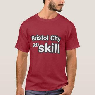 Bristol-Stadt sind Fähigkeit T-Shirt