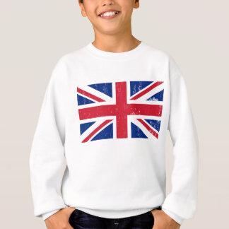 BRITISCHE britische Englisch-Flagge Sweatshirt