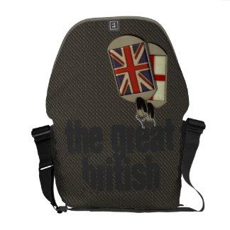 Britische Erkennungsmarken Kurier Taschen