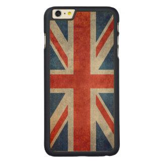 BRITISCHE Gewerkschafts-Jack-Flagge in den Carved® Maple iPhone 6 Plus Hülle
