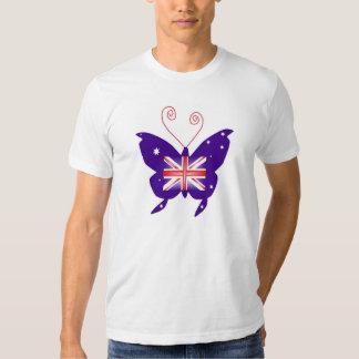 Britischer Diva-Schmetterling Tshirt