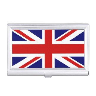 Britischer Flaggengeschäfts-Kartenhalter | Visitenkarten-Behälter