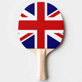 Britisches Flaggen-Klingeln pong Paddel für Tischtennis Schläger