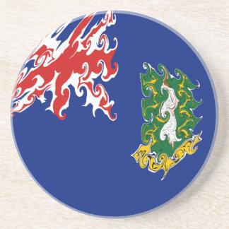 British- Virgin Islandsflagge Getränke Untersetzer