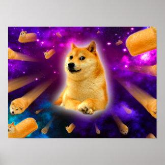 Brot - Doge - shibe - Raum - wow Doge Poster